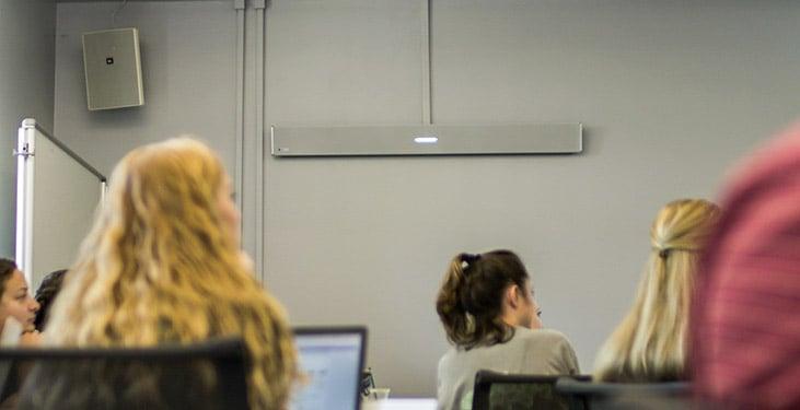 Advanced audio conferencing at UNC