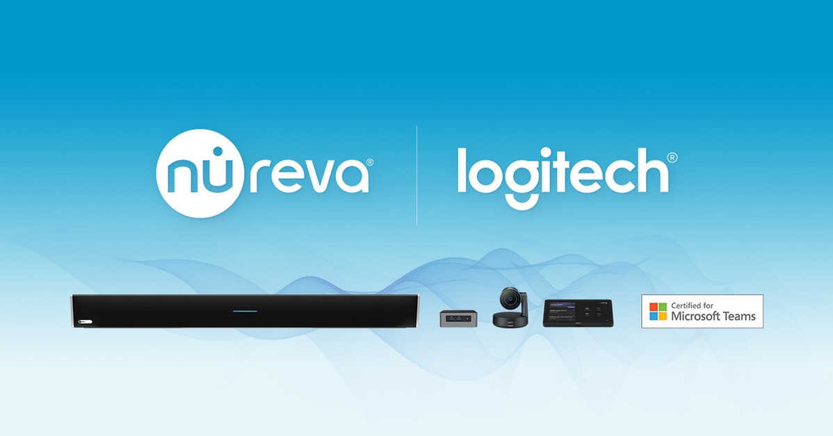 Nureva® audio and Logitech video: a powerful team for large spaces