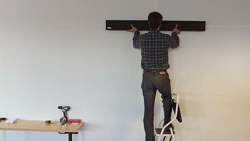 Installation of a Nureva audio conferencing system