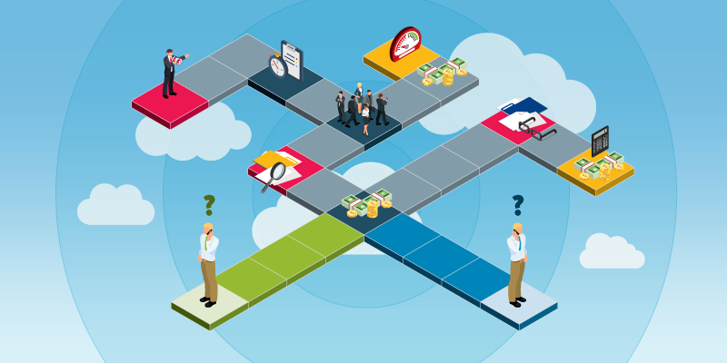 Compare two paths to better audio conferencing