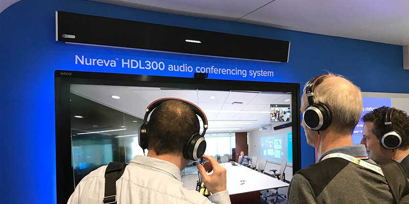 Remote demos with the HDL300 system