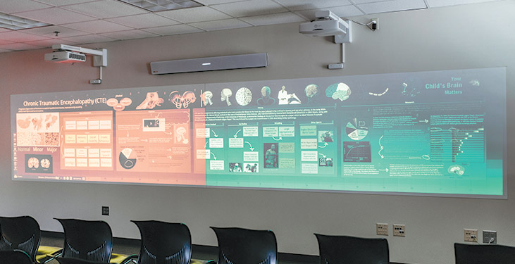 Remote collaboration with the Nureva Wall, Span Workspace and the HDL300 system
