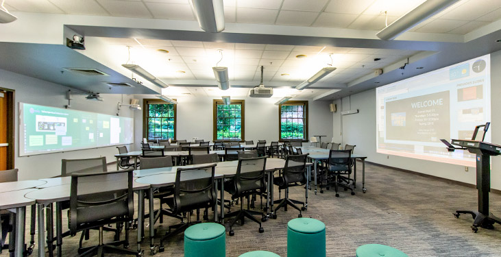 Active learning classroom of the future becomes a reality at UNC