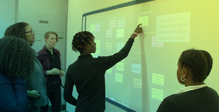 College and career readiness with collaborative learning