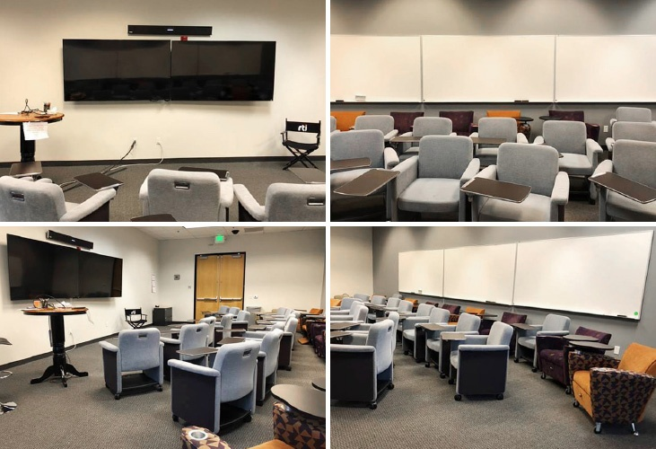 Meeting spaces at Real-Time Innovations (RTI)