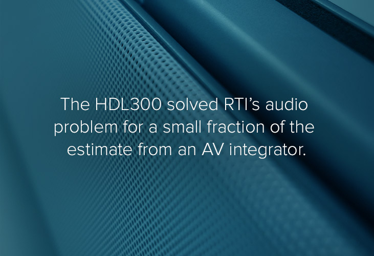 Real-Time Innovations (RTI) HDL300 audio conferencing system quote