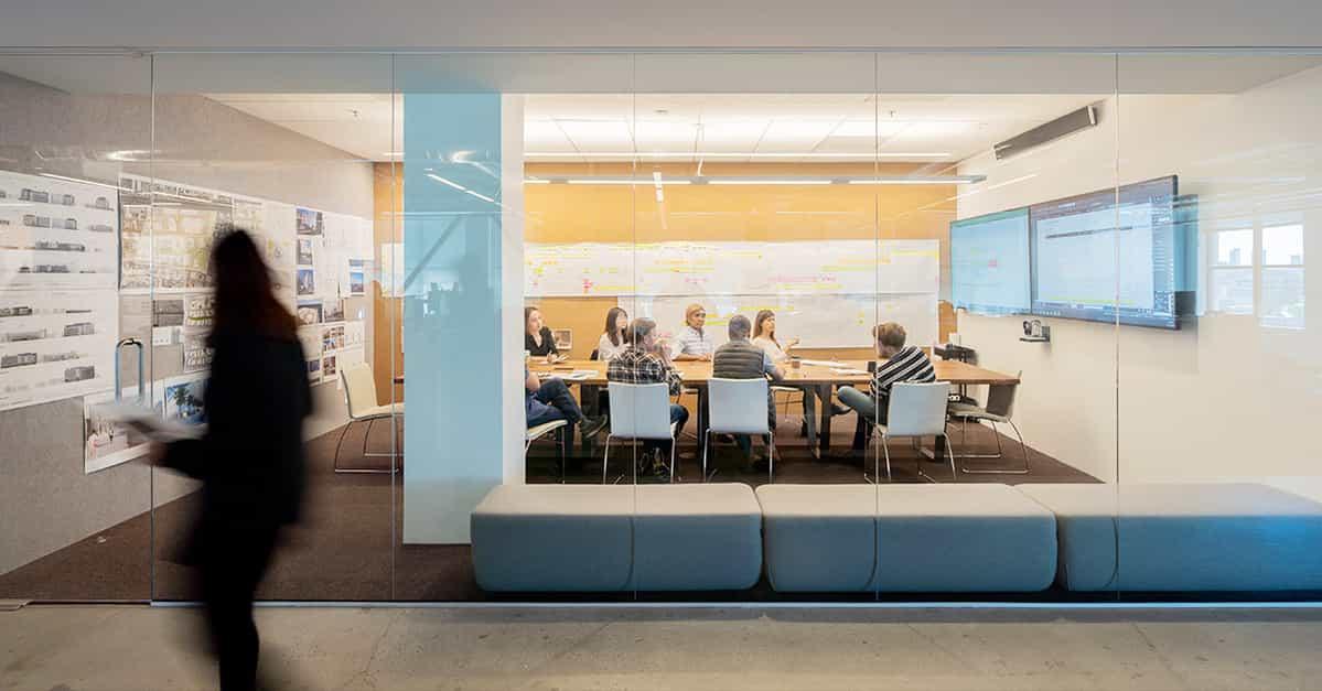 #1 U.S. architecture firm, WRNS Studio, picks Nureva®audio conferencing