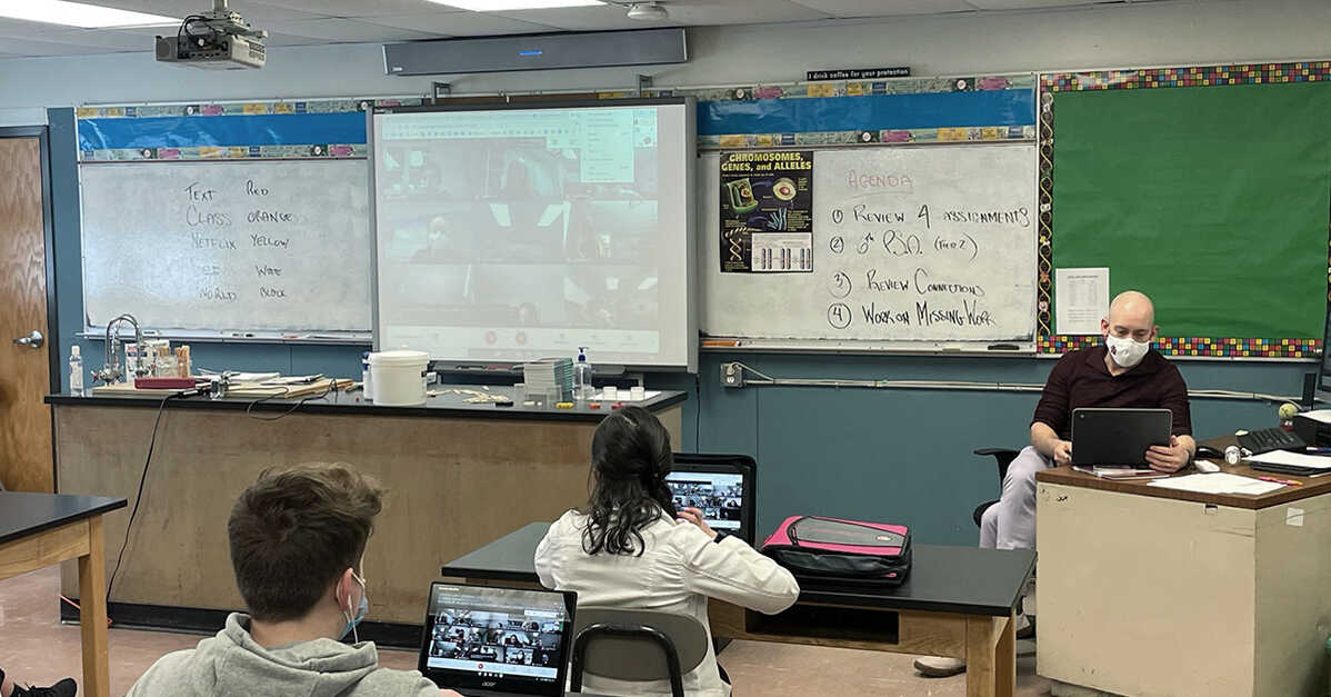 Tech & Learning case study: The value of student voice in hybrid classrooms