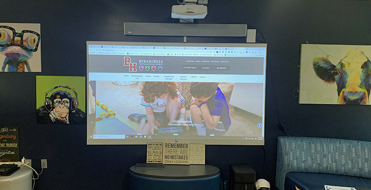 Hybrid learning tools at Byram Hills School District