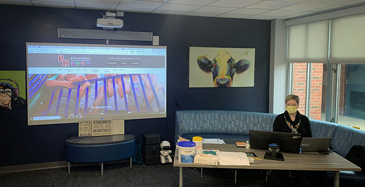 Hybrid learning at Byram Hills School District with the Nureva HDL300 system