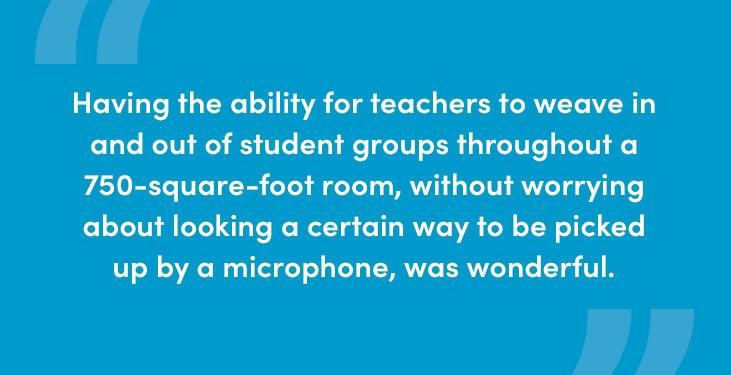Dr. R.J. Gravel describes hybrid learning with Nureva audio