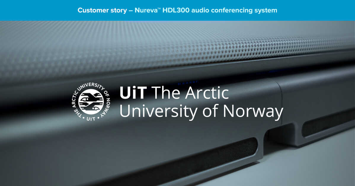 World's northernmost university stays connected with Nureva® audio