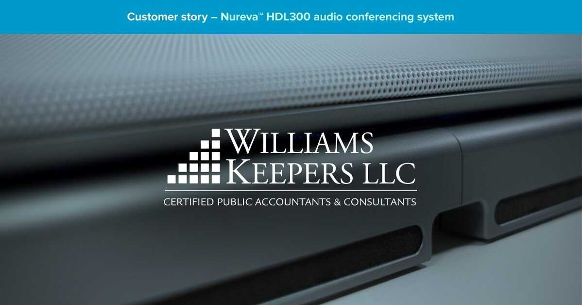 HDL300 takes the prize in Williams-Keepers' long quest for better audio conferencing
