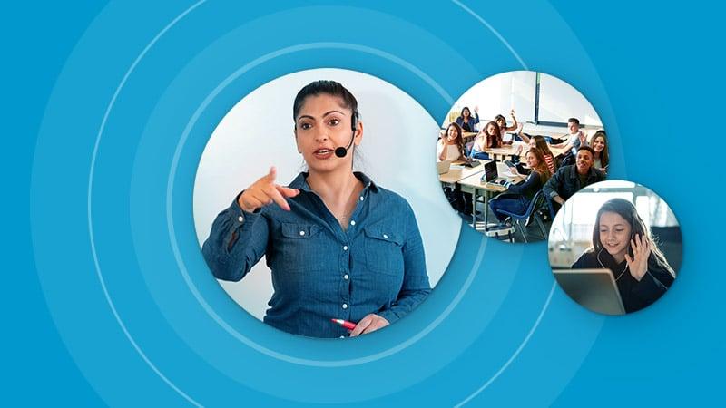 Nureva audio conferencing system - Voice Amplification Mode