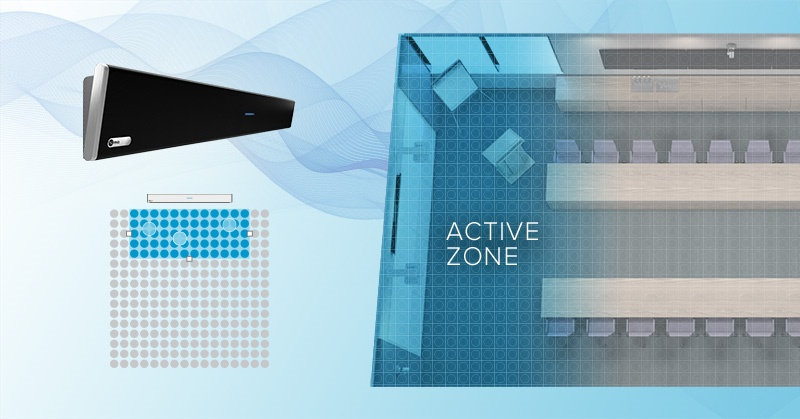 Active zone control in corporate setting