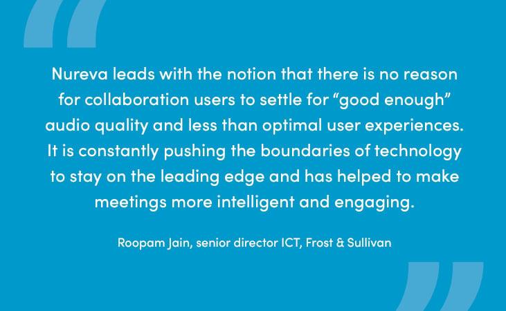 Frost & Sullivan analyst explains how Nureva is pushing audio conferencing boundaries