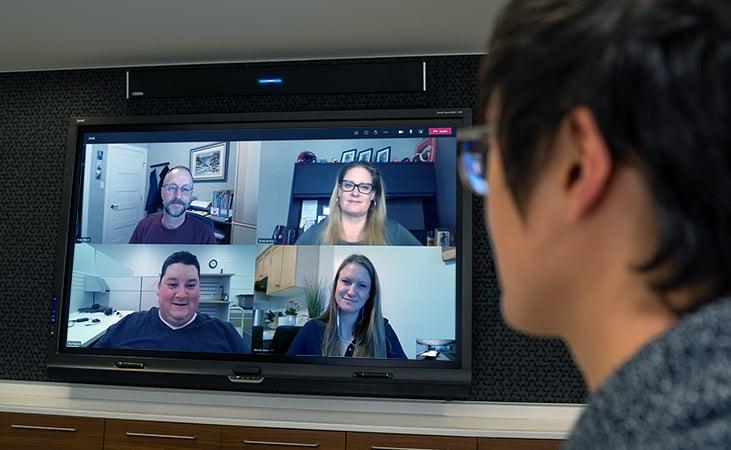 Meeting with Nureva audio and Microsoft Teams