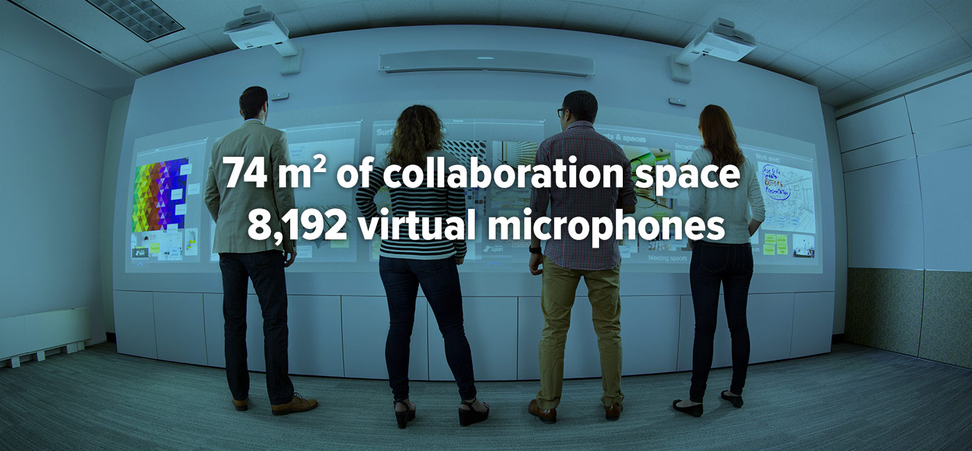 Visual collaboration and audio conferencing solutions