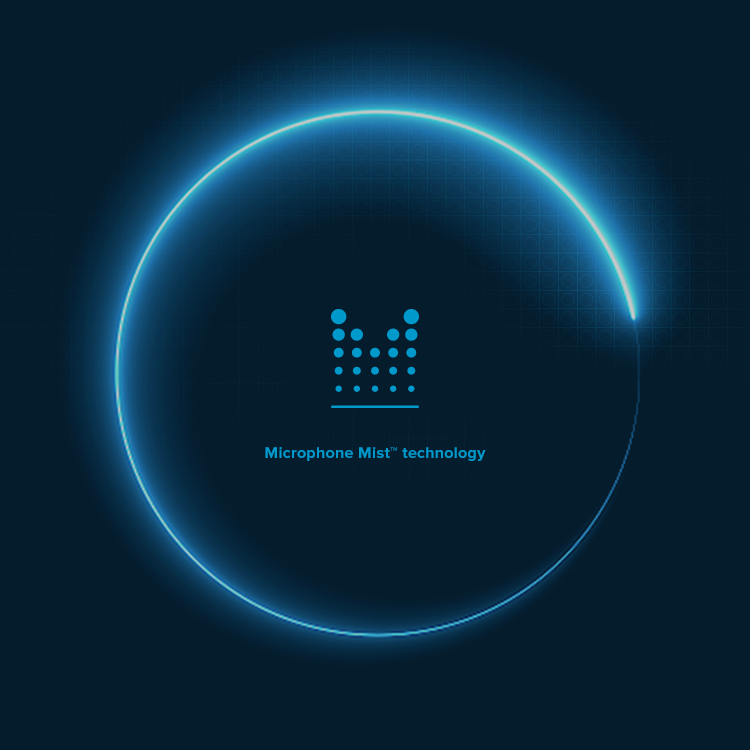 Microphone Mist technology logo