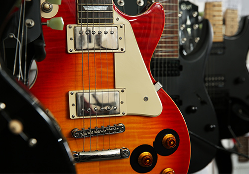 New - High res guitar image
