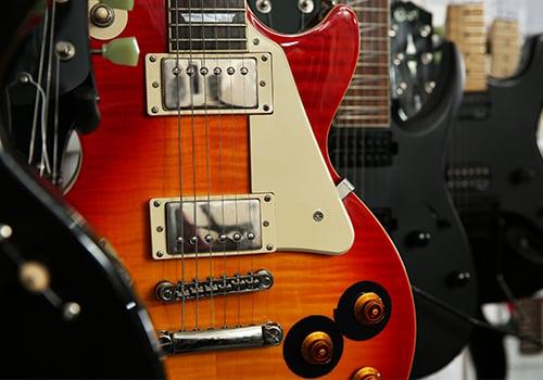 High-res guitar image