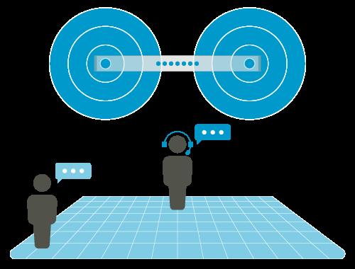 Nureva audio Voice Amplification Mode turned on