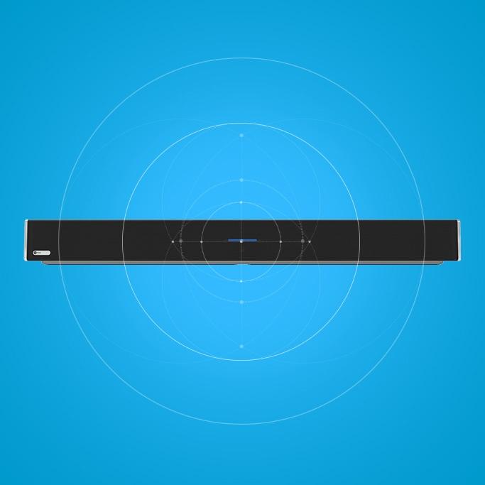 Nureva HDL300 audio conferencing system calibrating