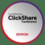 ClickShare Conference_label_Certified_alliance_def