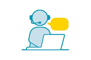 Remote work icon