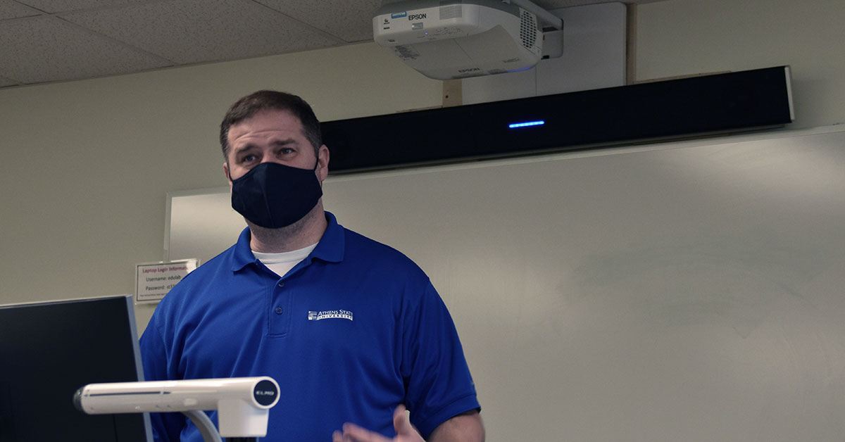 Athens State University outfits nearly 30 classrooms with Nureva® audio systems
