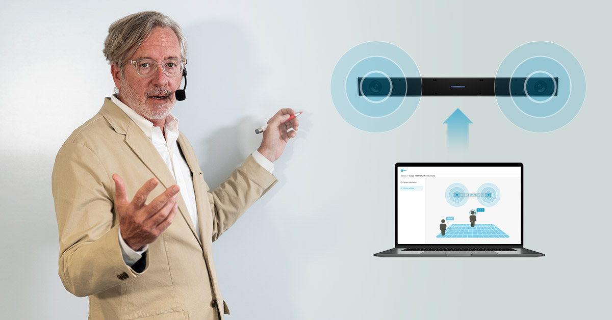 Nureva releases Voice Amplification Mode for classrooms and training spaces