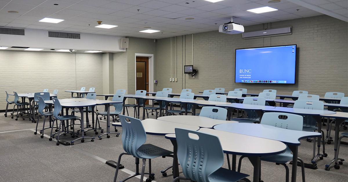 UNC journalism school standardizes on Nureva for classroom audio