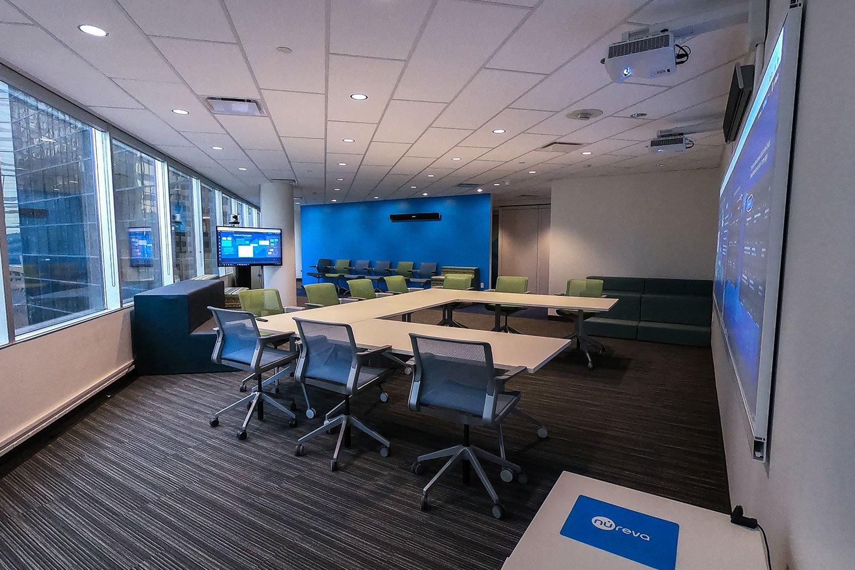 Nureva large meeting space