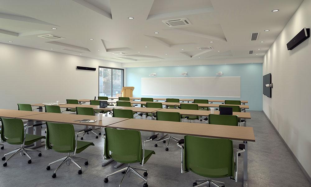 Large training room