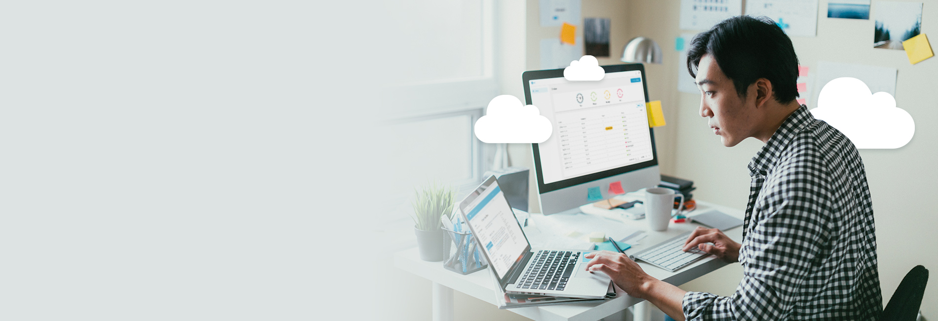 IT Professional managing meeting room audio on Nureva Console