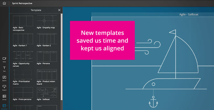 New agile templates in Span Workspace