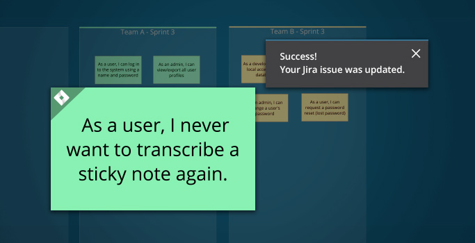 Introducing Jira-Sync notes in Nureva Span Workspace